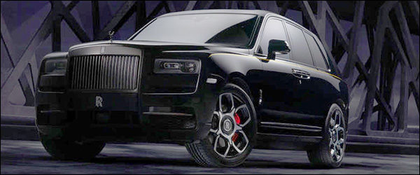 Officieel: Rolls Royce Cullinan Black Badge (2019)