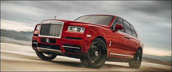 Officieel: Rolls Royce Cullinan SUV (2018)