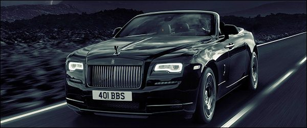 Officieel: Rolls Royce Dawn Black Badge [600 pk / 840 Nm]