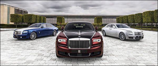 Officieel: Rolls Royce Ghost Zenith Collector's Edition (2019)