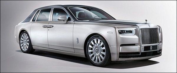 Officieel: Rolls Royce Phantom (2017)