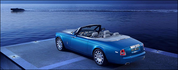 Officieel: Rolls Royce Phantom Drophead Coupe Waterspeed Collection