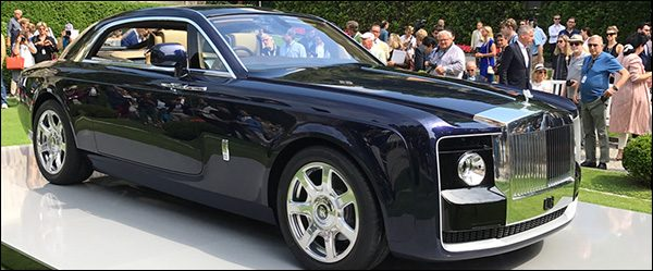 Officeel: Rolls Royce Sweptail (2017)