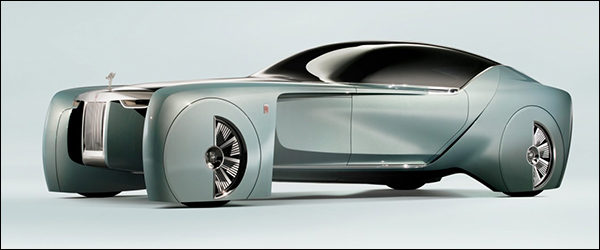 Officieel: Rolls-Royce Vision Next 100 Concept