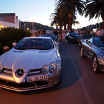 Met de Mercedes SLR Club cruisen langs de Adriatische Zee