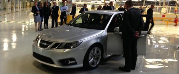 Saab 9-3 EV NEVS