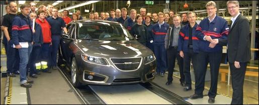 Saab Productie 9-5
