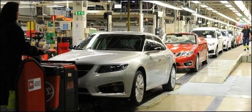 Saab Productie herstart