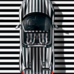 Op art - Luca Beatrice - Ferrari 458 Spider