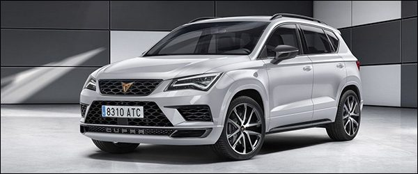 Officieel: Seat CUPRA Ateca SUV (2018)