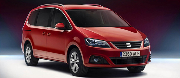 Officieel: Seat Alhambra facelift