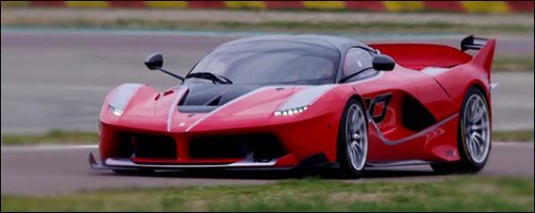 Video: Sebastian Vettel leeft zich uit met de Ferrari FXX K
