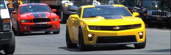 Shelby GT500 vs Camaro ZL1 Video