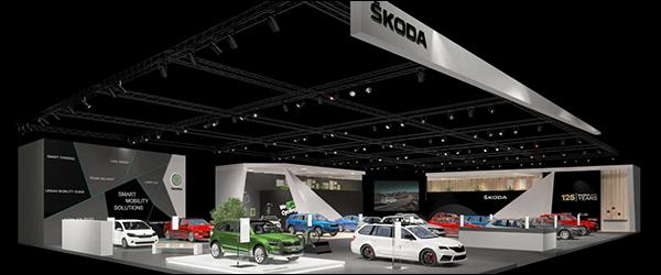 Autosalon Brussel 2020: Skoda line-up