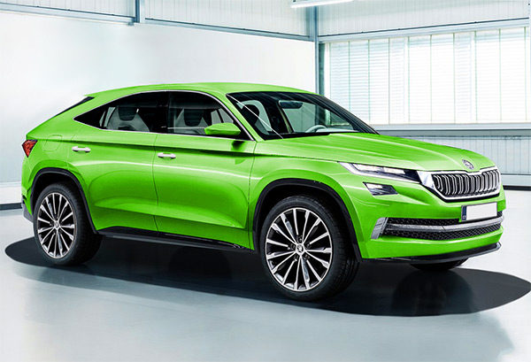 Preview: Skoda Kodiaq Coupé (2018) | GroenLicht.be