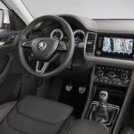 Teaser: Skoda Kodiaq SUV interieur
