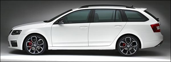 Officieel: Skoda Octavia RS 2013