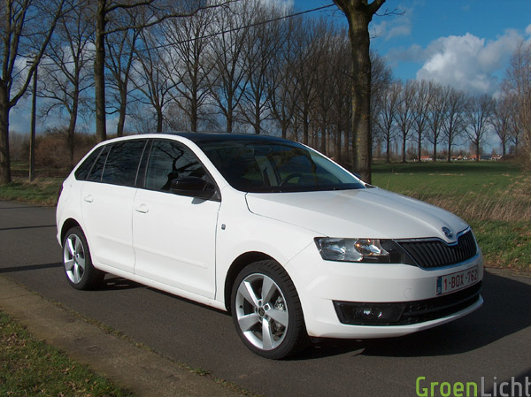 Skoda Rapid Spaceback - Rijtest 07