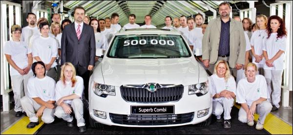 Skoda Superb 500000
