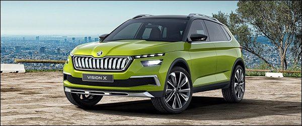 Officieel: Skoda Vision X Concept (2018)