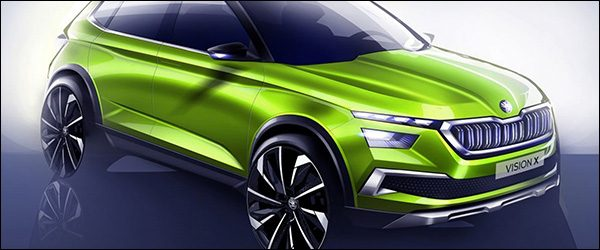 Preview: Skoda Vision X Concept (2018)