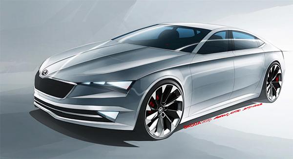 Het Skoda VisionC Concept komt naar Genève
