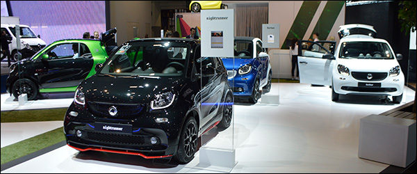 Autosalon Brussel 2017 live: Smart (Paleis 5)