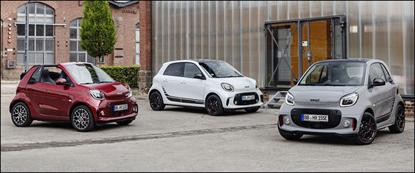 Officieel: Smart ForTwo EQ + ForFour EQ facelift (2019)