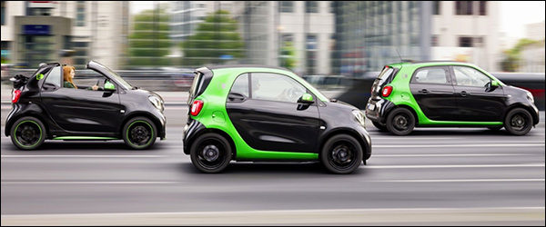Officieel: Smart Electric Drive (2016)