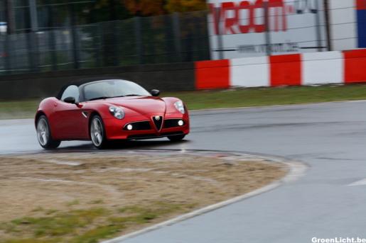 Special Alfa Romeo 8C Spider
