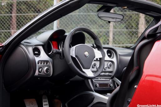 Special Alfa Romeo 8C Spider Interieur