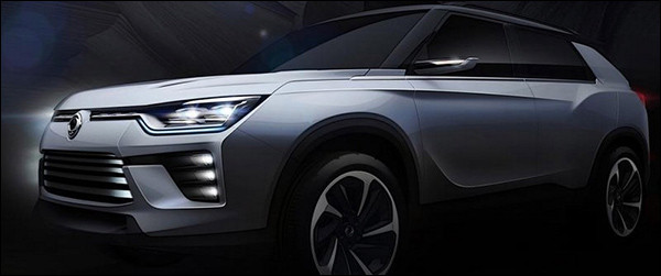 Officieel: SsangYong SIV-2 Concept