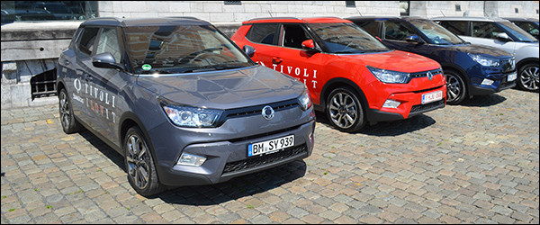 Autosalon Brussel 2016: SsangYong Line-up
