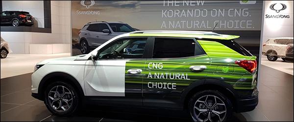 Ssangyong lanceert CNG versies voor de Tivoli en Korando (2020)