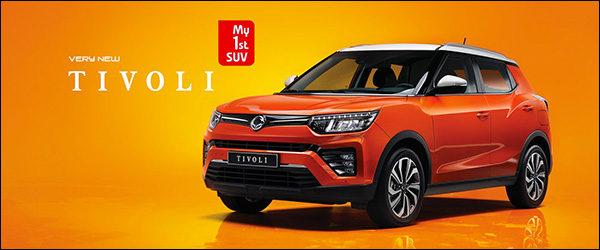 Officieel: SsangYong Tivoli facelift (2019)