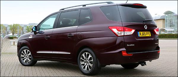 Ssangyong Rodius krijgt nieuwe dieselmotor [178 pk / 400 Nm]