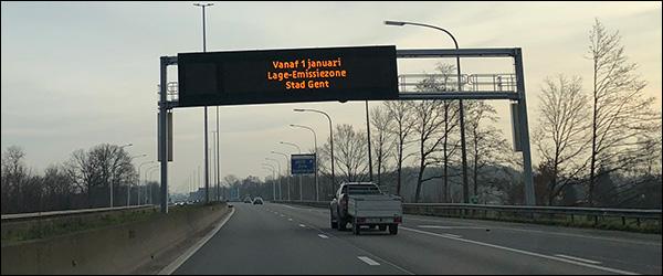 Officieel: Gent heeft vanaf nu een lage-emissiezone (LEZ)