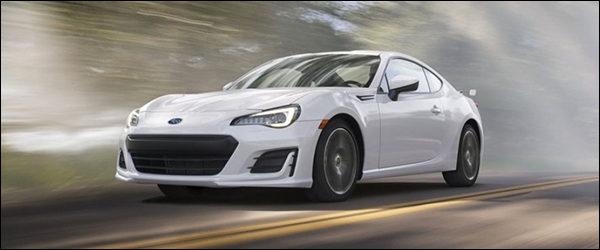 Subaru BRZ facelift 2016