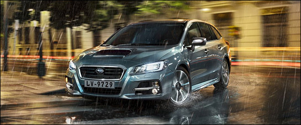 Autosalon Brussel 2016: Subaru Line-up (levorg)