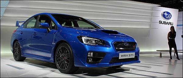 Subaru WRX STI - Geneva 2014 Live