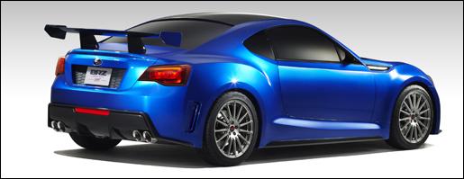 Subaru BRZ Concept autosalon brussel 2012