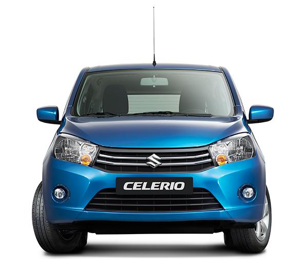 De Suzuki Celerio verwelkomt ons in Genève