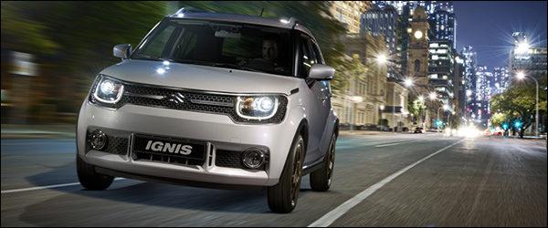 Belgische prijs Suzuki Ignis: vanaf €14.199
