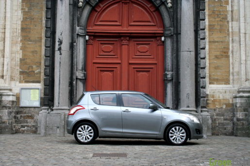 Suzuki Swift Rijtest
