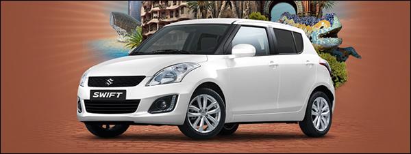 Koop online een Suzuki Swift en ga op citytrip!