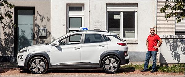 Taxichauffeur Serguei haalt 608 km rijbereik met zijn Hyundai Kona Electric!