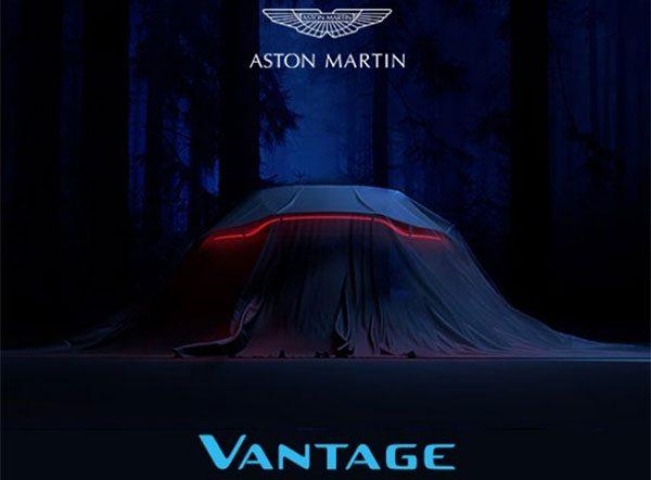 Teaser: Aston Martin V8 Vantage (2017)