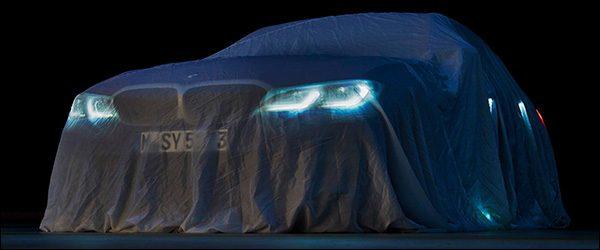 Teaser: BMW 3-Reeks Berline (2018)