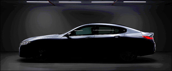 Teaser: BMW 8-Reeks Gran Coupe (2019)