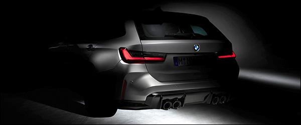 Teaser: BMW M3 Touring (2023)